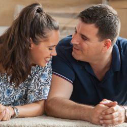 couple on floor